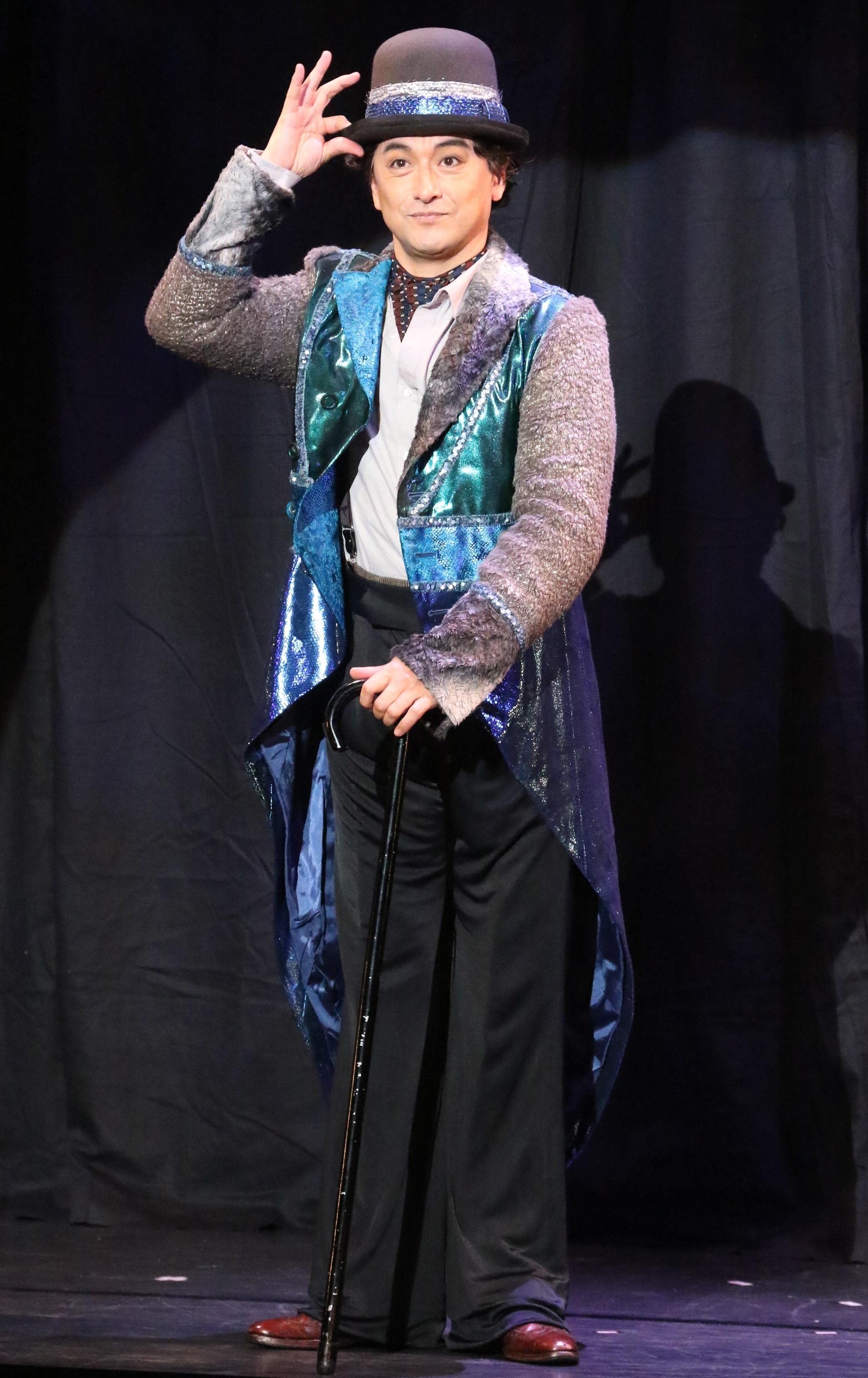 音楽劇『ライムライト』再演より、石丸幹二 写真提供:東宝演劇部
