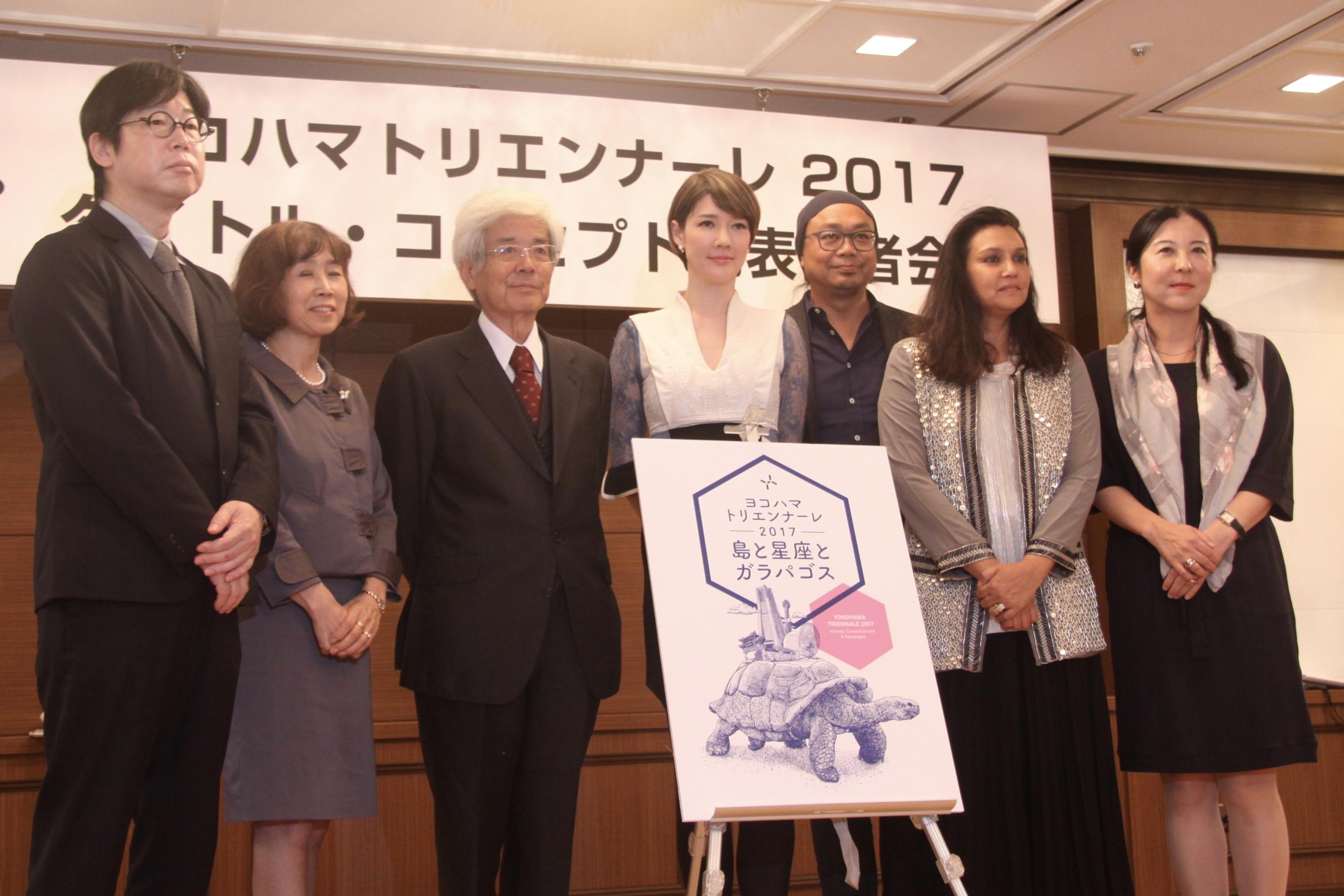 ヨコハマトリエンナーレ2017「島と星座とガラパゴス」構想会議メンバー