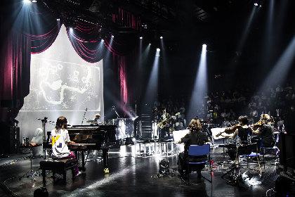 """クアイフ、ミニアルバム『URAUE』リリースツアーファイナルで""""魅せ・聴かせた""""革新と挑戦のライブ"""