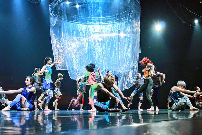 第12回本公演『ジャングル・コンクリート・ジャングル』photo by Riki Ishikura
