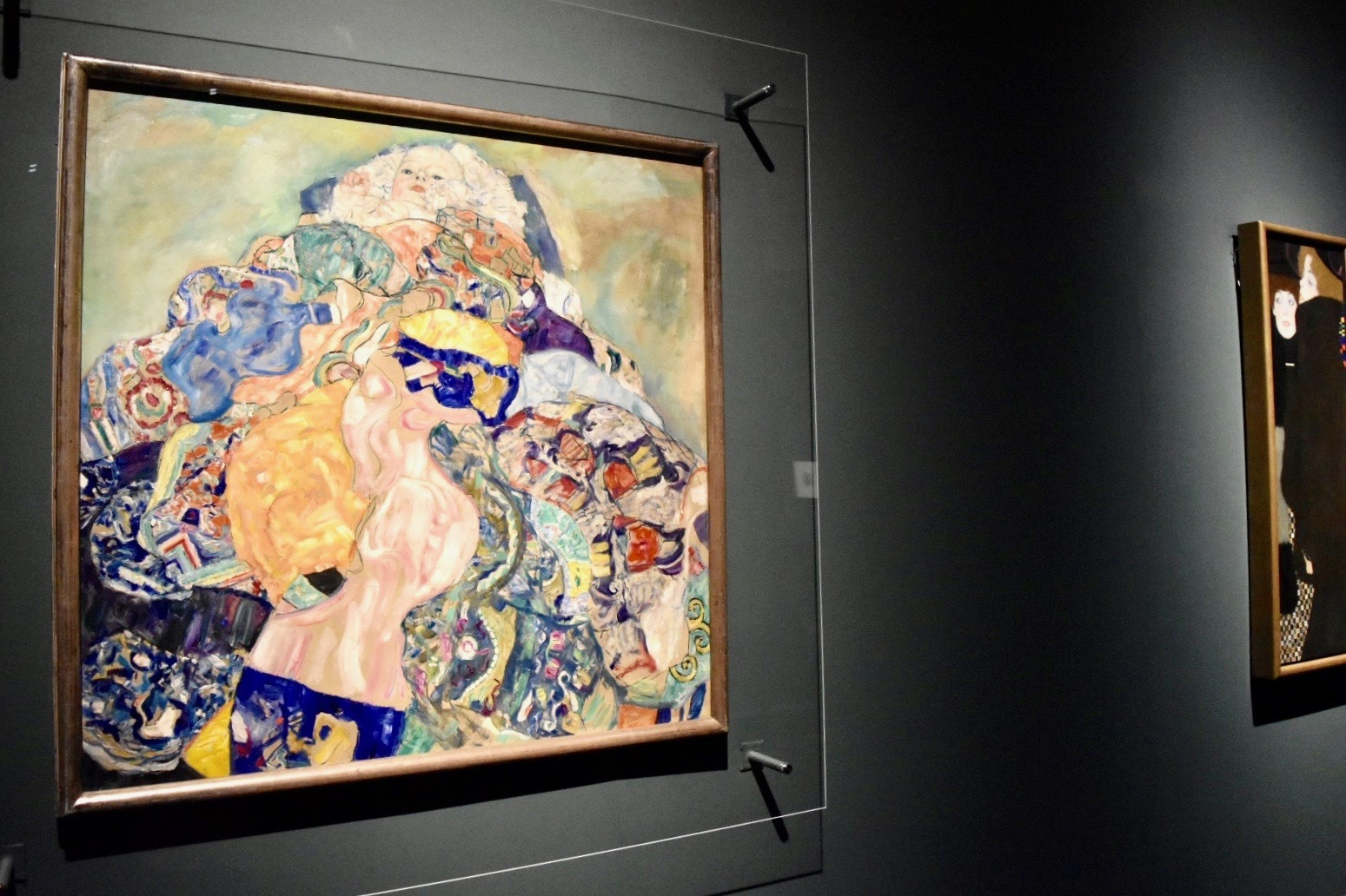 グスタフ・クリムト 《赤子(ゆりかご)》 1917年 ワシントン・ナショナル・ギャラリー蔵
