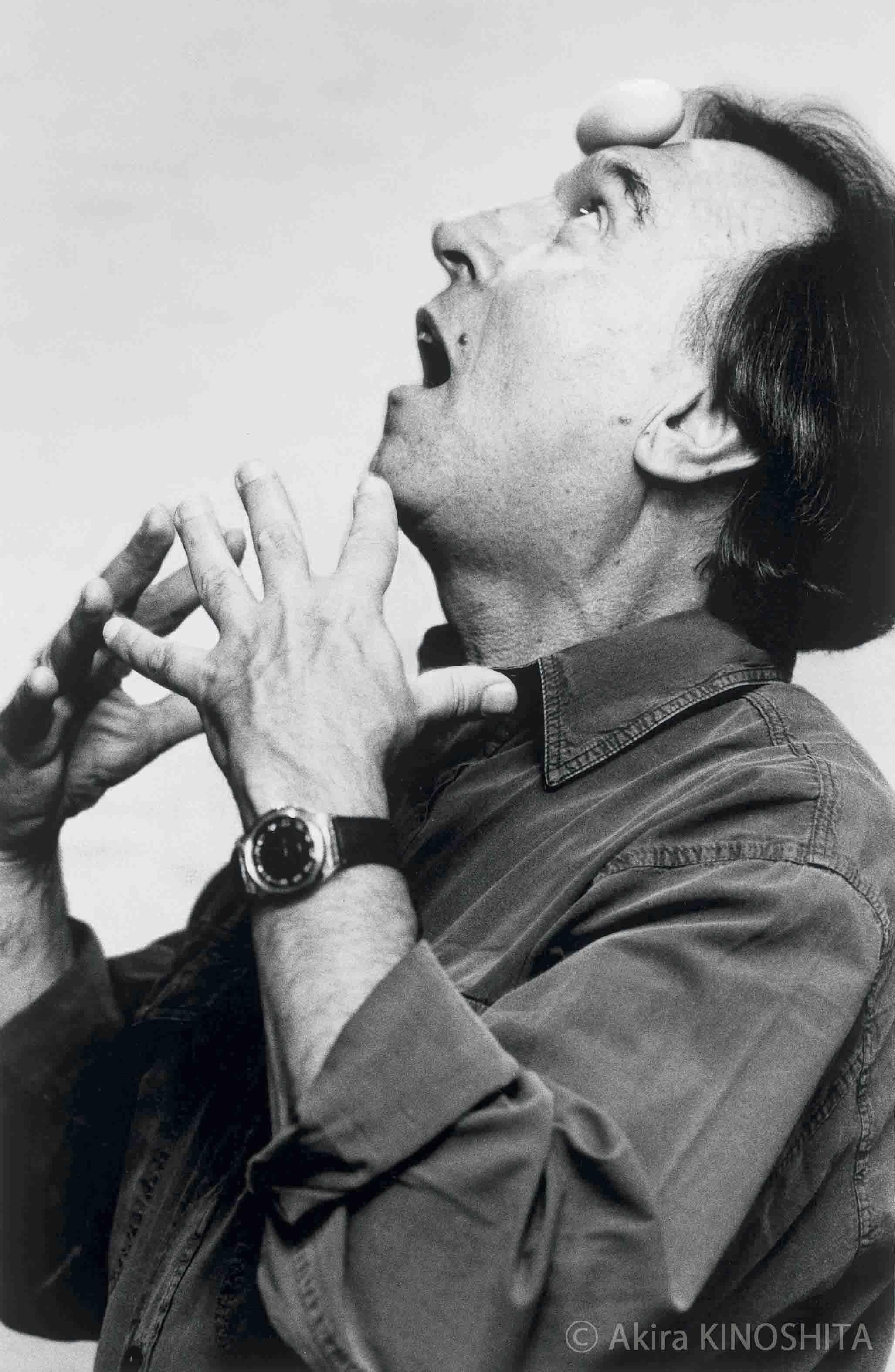 クラウディオ・アバド(指揮者) 1996年10月17日撮影