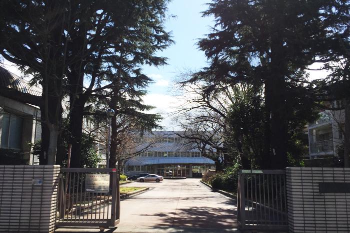 聖地・東京都立西高等学校