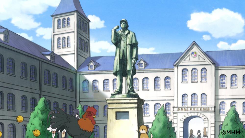 『ミルキィホームズ』ビデオ会議用バーチャル背景画像