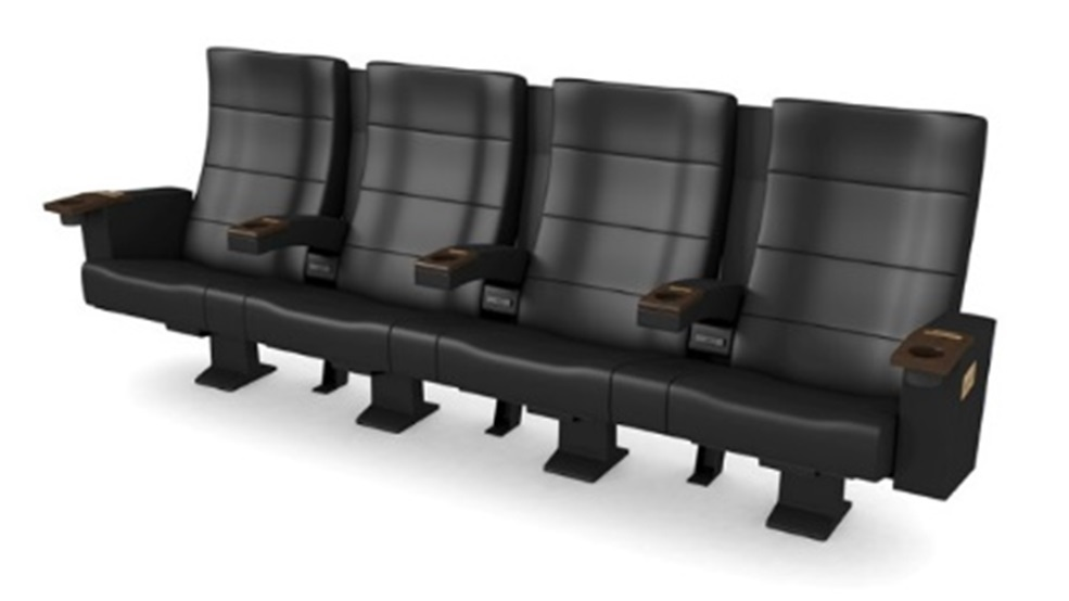 「プレミアムシートA」の4人掛けシート