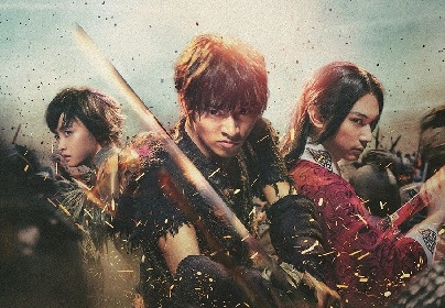 山﨑賢人VS吉沢亮、『キングダム』殺陣の裏側が明らかに ブルーレイ&DVDからメイキング映像の一部を公開