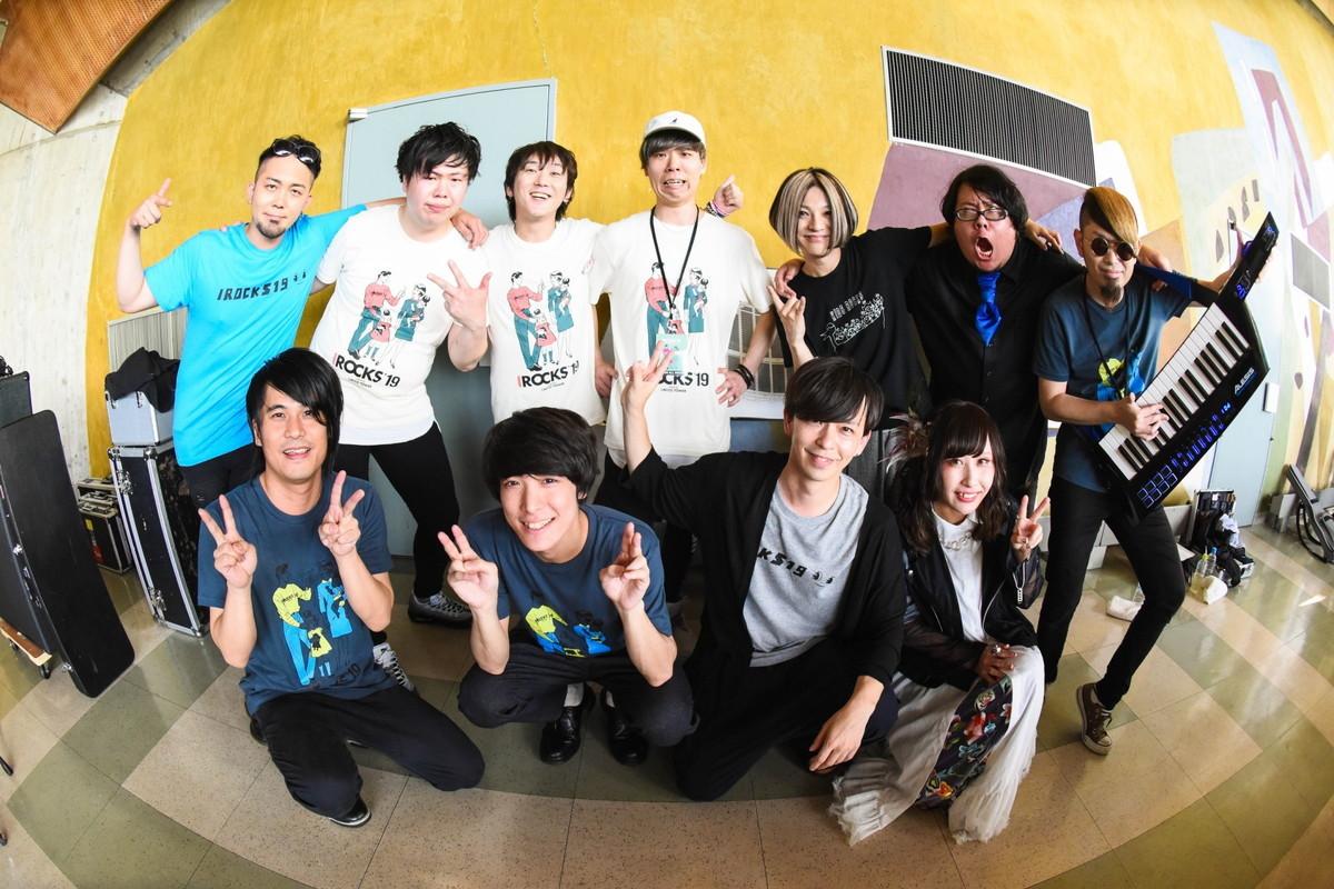 I ROCKS 2019スペシャルバンド Photo by Masanori Fujikawa