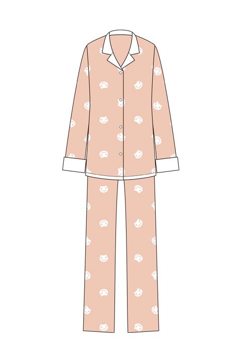 『化物語』羽川翼のパジャマ (C)西尾維新/講談社・アニプレックス・シャフト