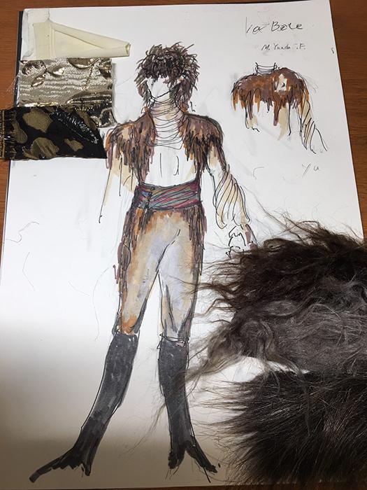 『美女と野獣』衣裳デザイン