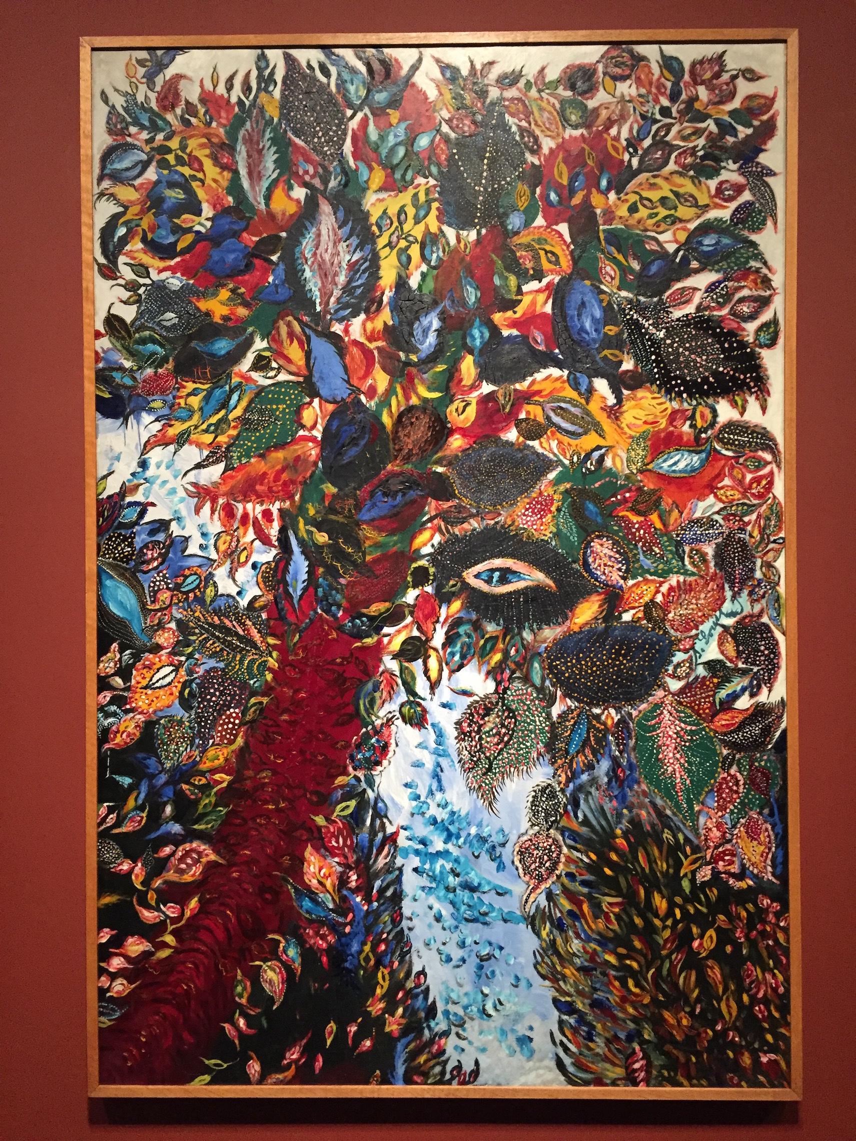 セラフィーヌ・ルイ《楽園の樹》1929年 ⓒgirls Artalk