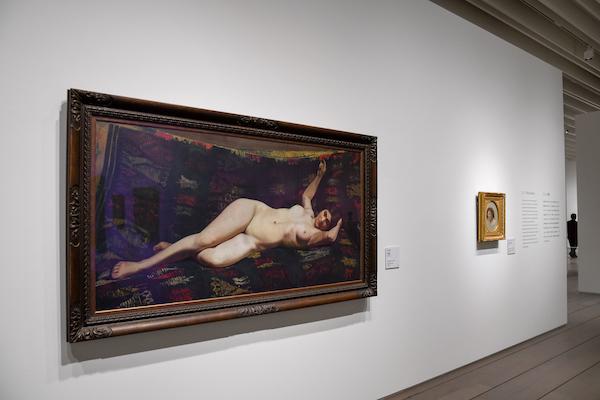 百武兼行《臥裸婦》1881年頃 石橋財団アーティゾン美術館蔵