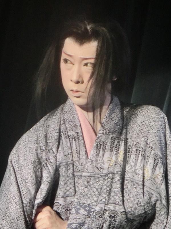 劇団悠・松井悠座長(2015/3/8) 2016年6月は三吉演芸場公演だ。