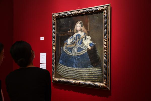 ディエゴ・ベラスケス《青いドレスの王女マルガリータ・テレサ》 1659年 ウィーン美術史美術館