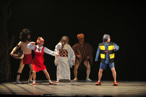 2014年に上演されたミュージカル「ゲゲゲの鬼太郎~十万億土の祈り~」より。