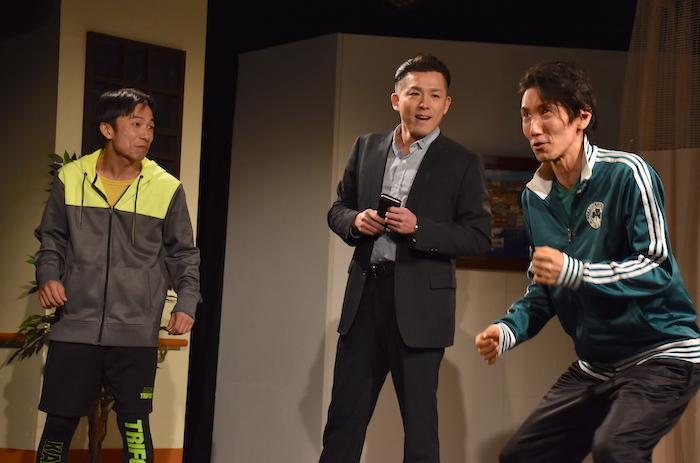 舞台『夜明け〜spirit〜』のゲネプロの様子