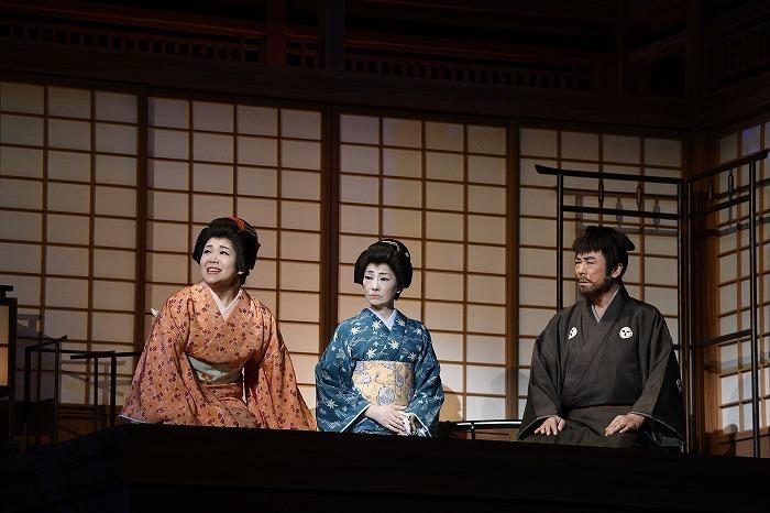 『喜劇 お染与太郎珍道中』舞台写真