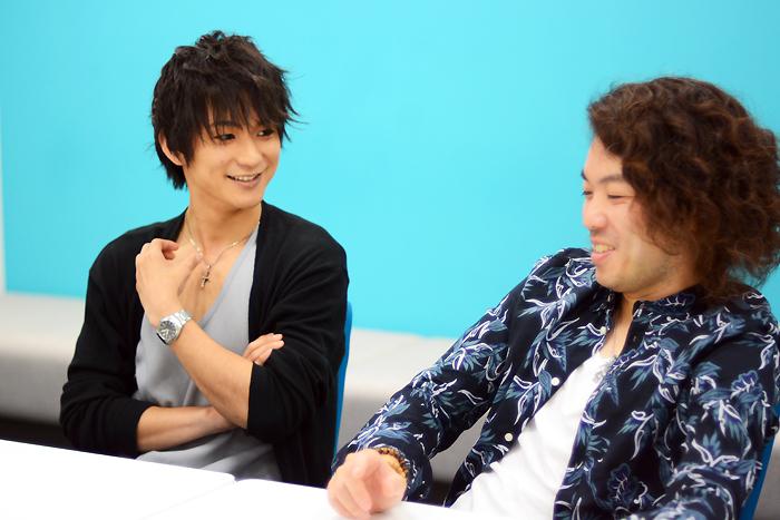 (左から)山木透、菅野臣太朗