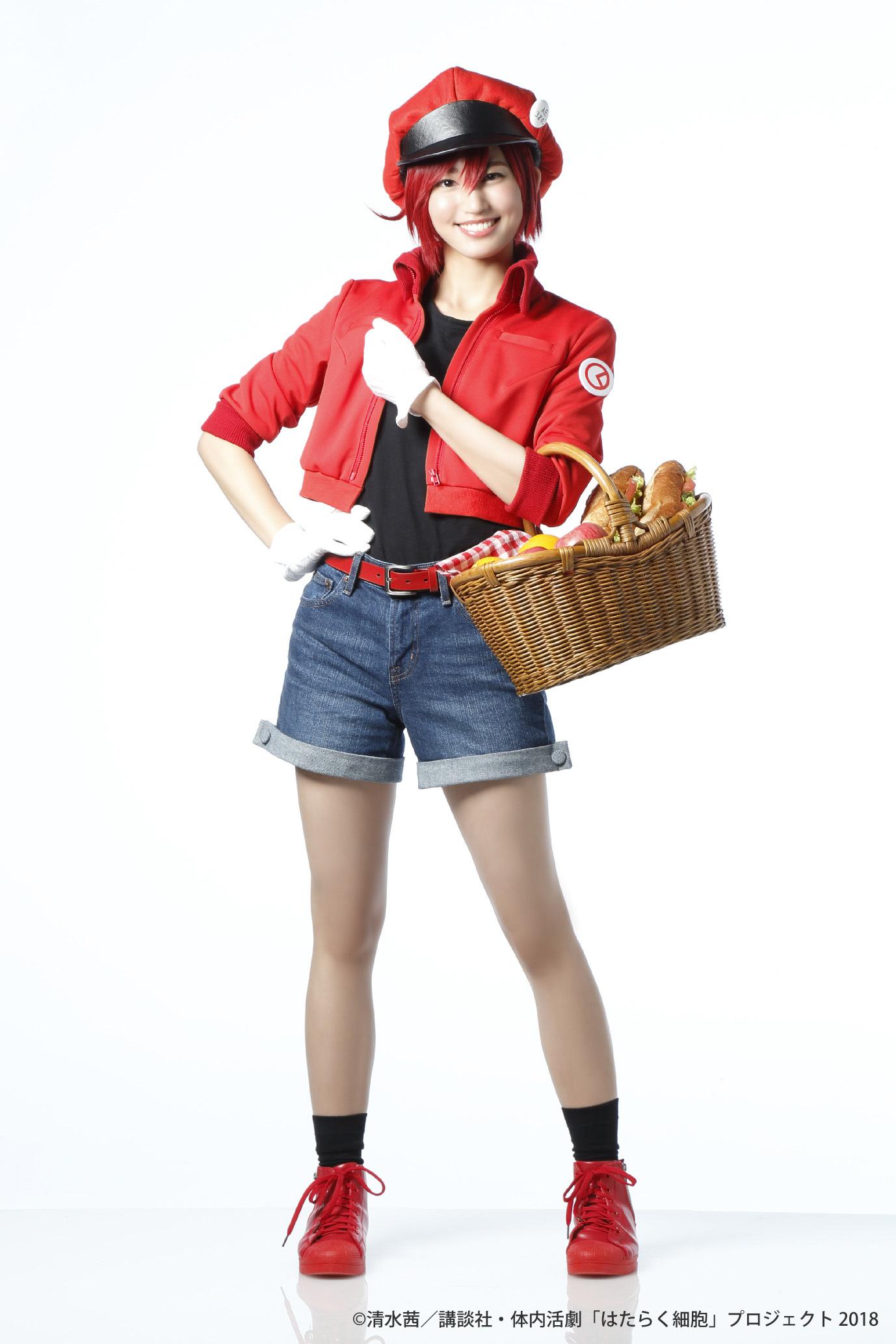 赤血球役:七木奏音