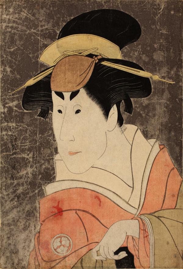 東洲斎写楽「二代目小佐川常世の一平姉おさん」 寛政6年(1794)