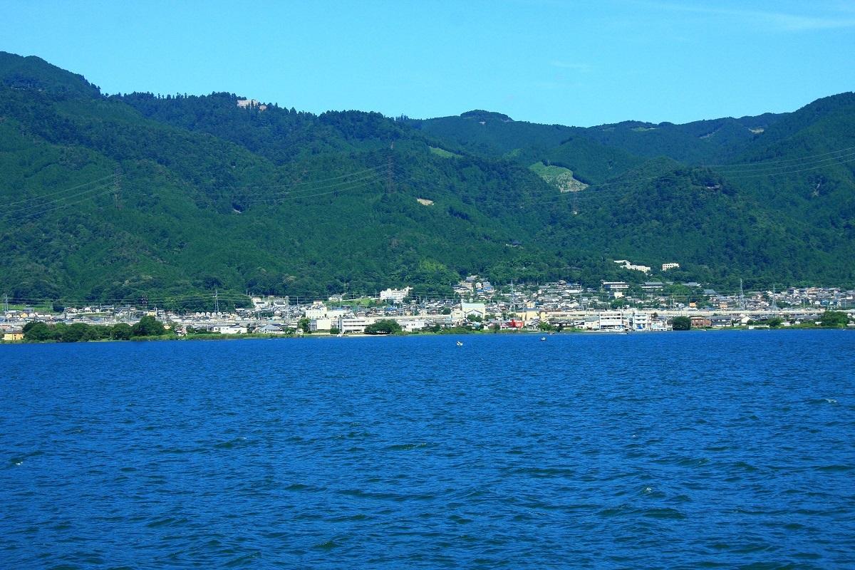 比叡山と坂本城
