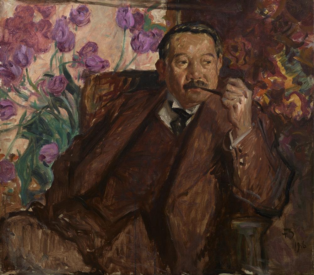 フランク・ブラングィン《松方幸次郎の肖像》 1916年 油彩、カンヴァス 国立西洋美術館(旧松方コレクション)