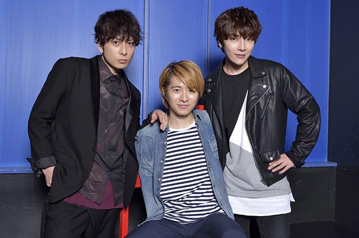 (左から)堂珍嘉邦 村井良大 ユナク(超新星)