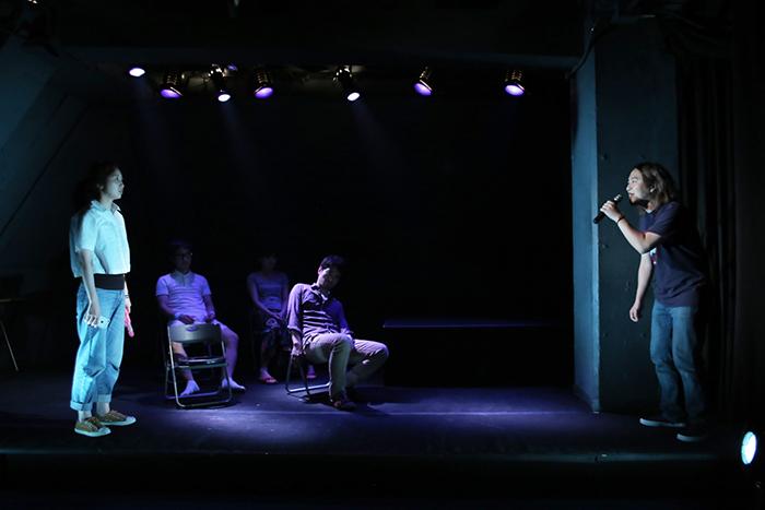 桃尻犬みのりの公演『熊ん子リバーバンク』舞台写真