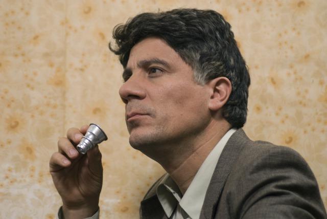『10月の奇跡』 クレメンテ役のブルーノ・オダール。一度たりとも笑いません。そしてなにげにイケオヤジ。 (C)Maretazo Cine