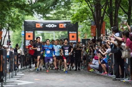 800人のランナーが丸の内を走る! 『ブルームバーグ スクエア・マイル・リレー』が今年も開催