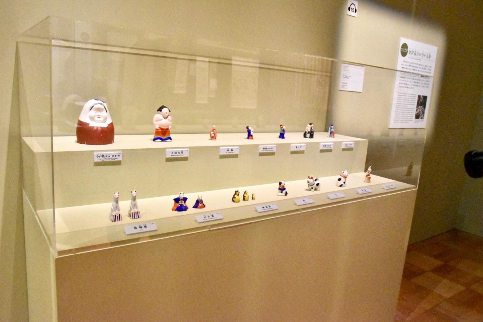 今戸人形(金沢春吉/作) 大正~昭和時代 20世紀 江戸東京博物館蔵