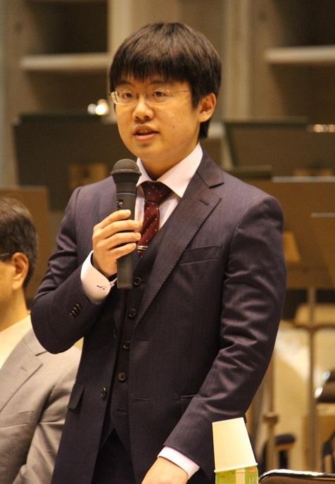 太田弦(大阪交響楽団 次期正指揮者) (C)H.isojima
