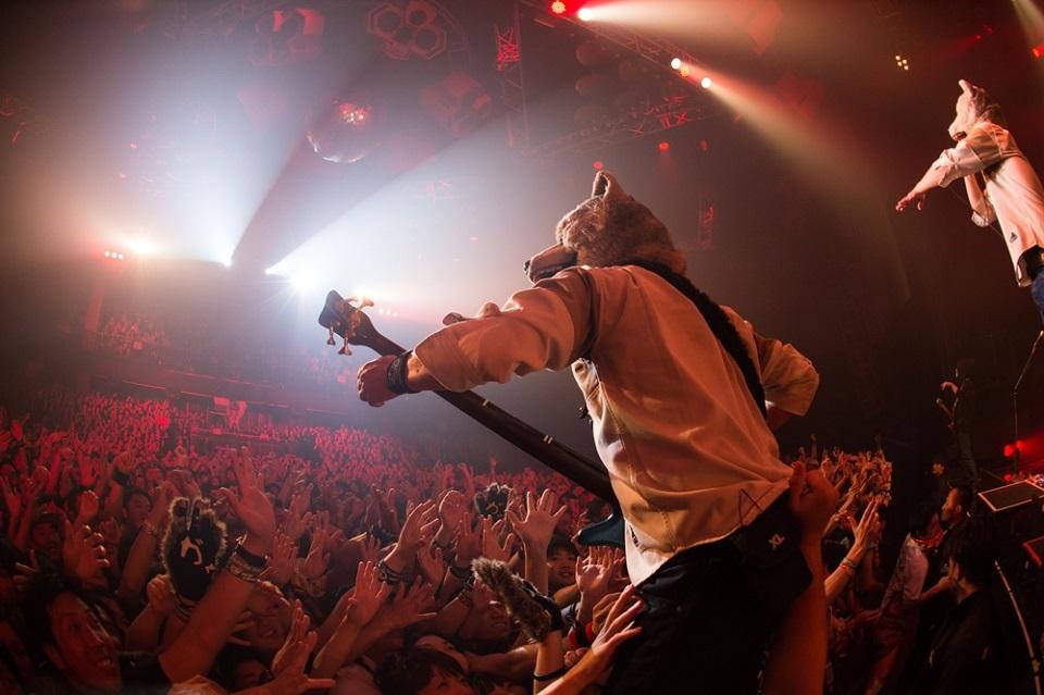 MAN WITH A MISSION Photo by Nobuyuki Kobayashi, Daisuke Sakai (FYD inc.)