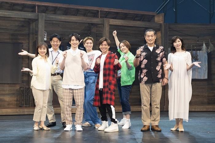 ハートフル音楽劇『イキヌクキセキ~十年目の願い~』出演者 撮影:曳野若菜