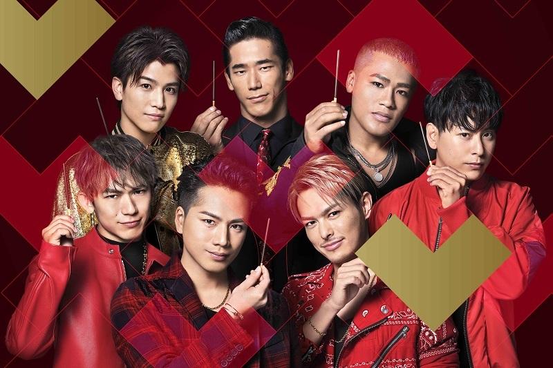 三代目 J Soul Brothers × Pocky 新CMメインカット