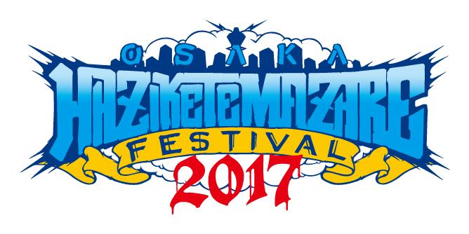 HEY-SMITH主催『OSAKA HAZIKETEMAZARE FESTIVAL 2017』
