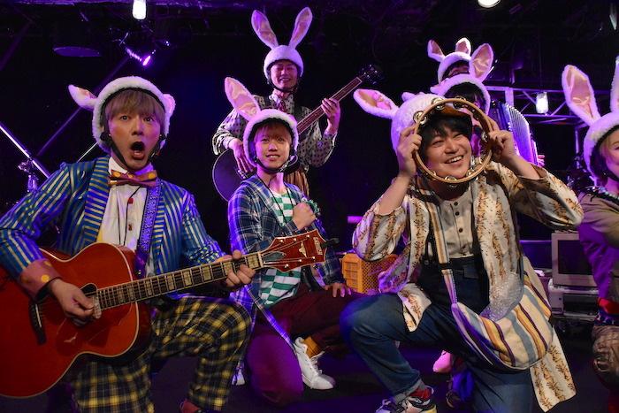 『ラビトン-rabbit on-』公開ゲネプロの様子