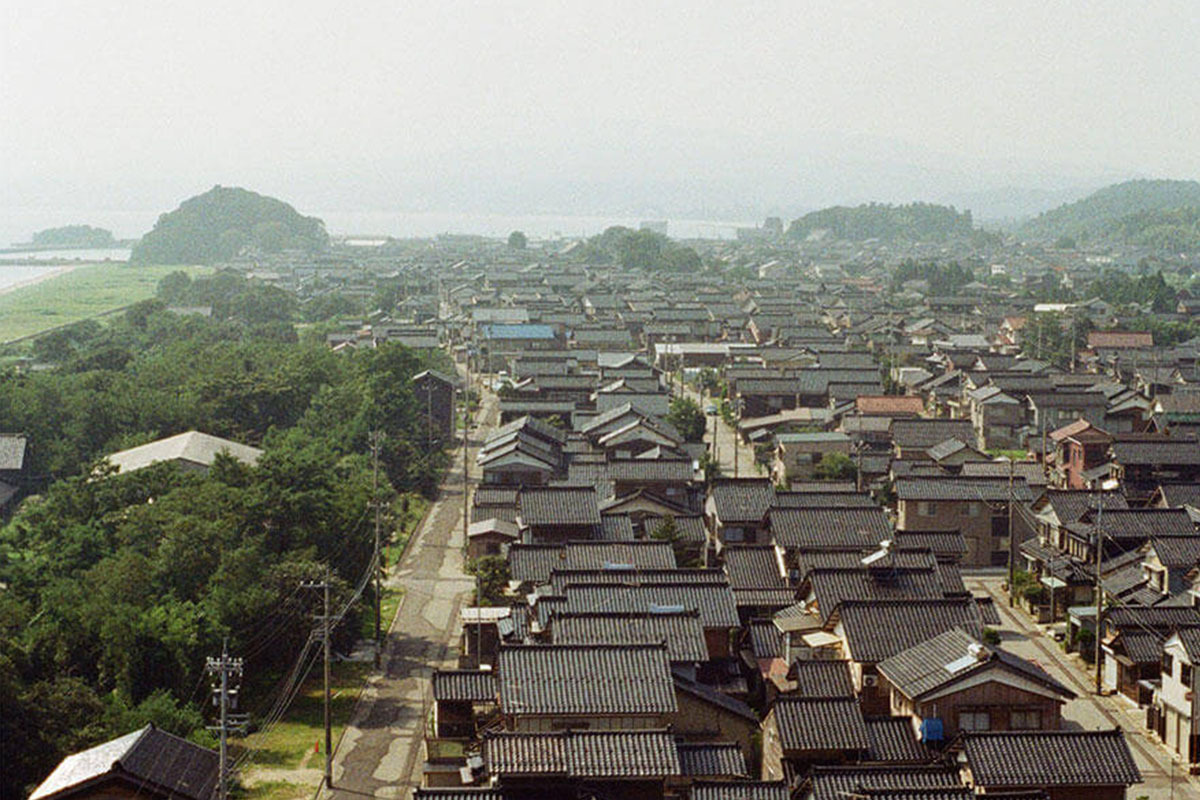 蛸島町のまち並み (写真=志保石薫)