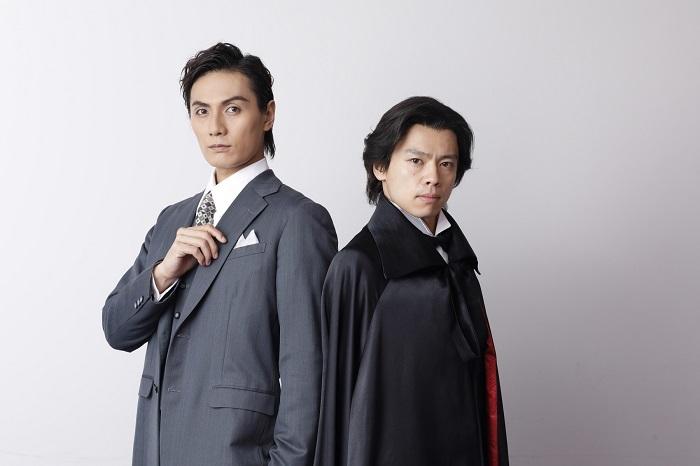 (左から)加藤和樹 中川晃教 撮影:岡千里