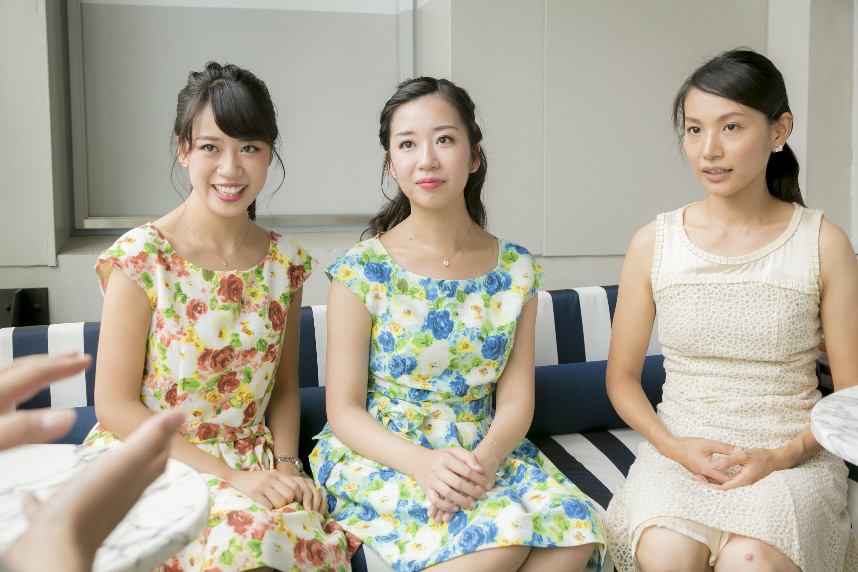 山田 麗、山田 華、長篠央子(ピアノ) (撮影=寺坂ジョニー)