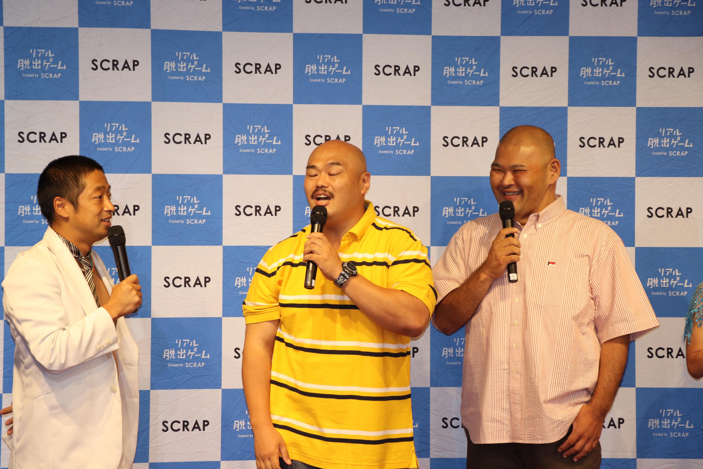 安田大サーカス、左から団長、クロちゃん、ヒロ (c)SHOCHIKU GEINOU