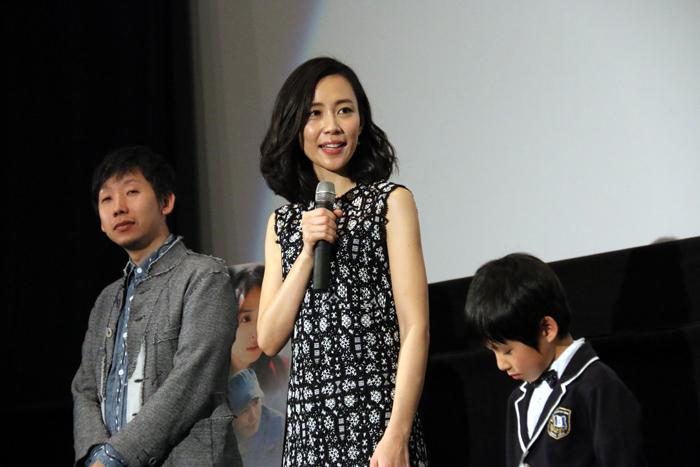 木村佳乃、高橋曽良(子役)、柳沢翔監督「星ガ丘ワンダーランド」