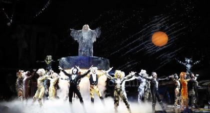 新設劇場で本日開幕、劇団四季「キャッツ」新たなステージングもお目見え