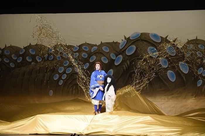 新作歌舞伎『風の谷のナウシカ』より場面写真 (C)松竹株式会社