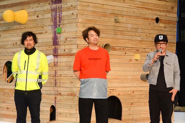 「六本木アートナイト2018」メインアーティストの3名