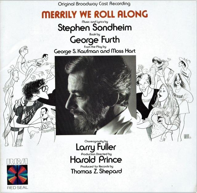『メリリー・ウィー・ロール・アロング』(1981年)初演キャストCD(輸入盤)