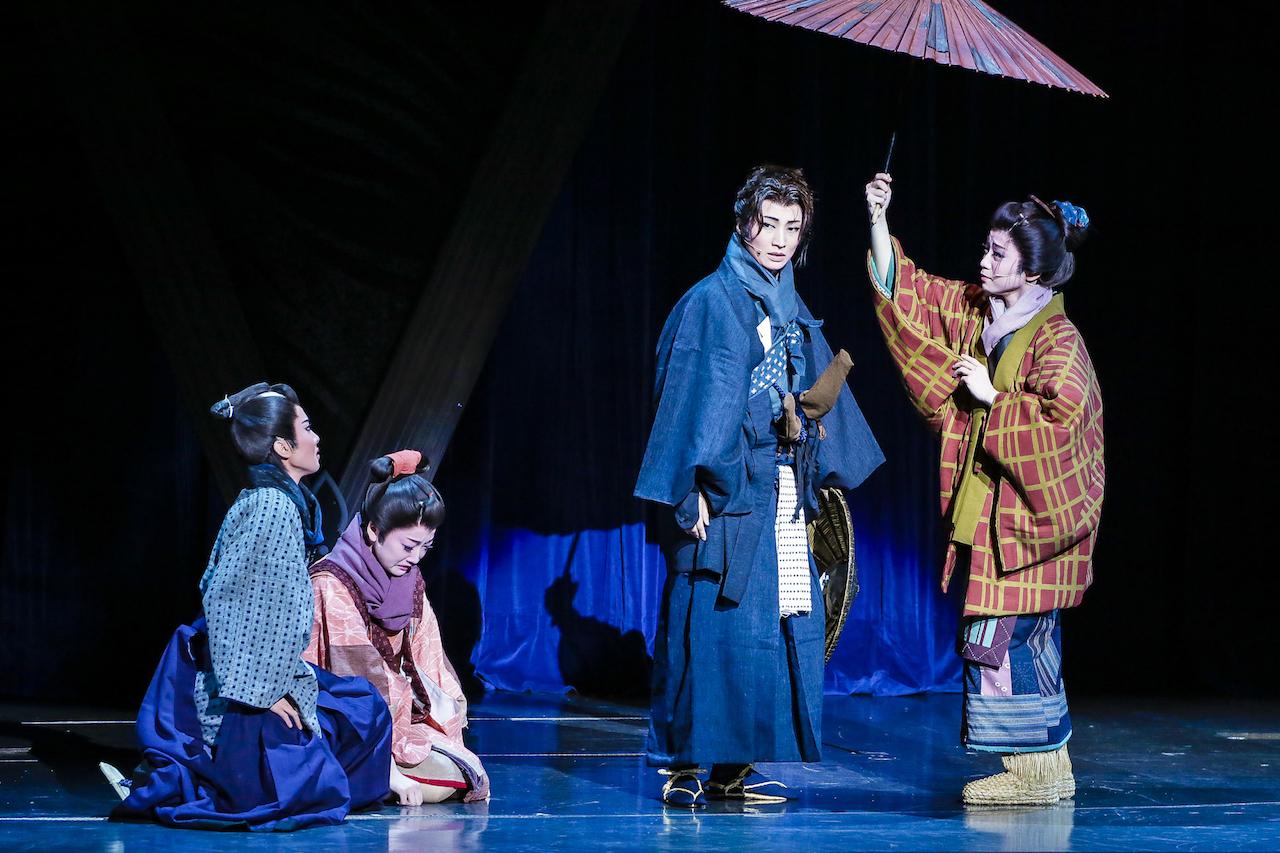 かんぽ生命 ドリームシアター 幕末ロマン『壬生義士伝』より 撮影=森好弘