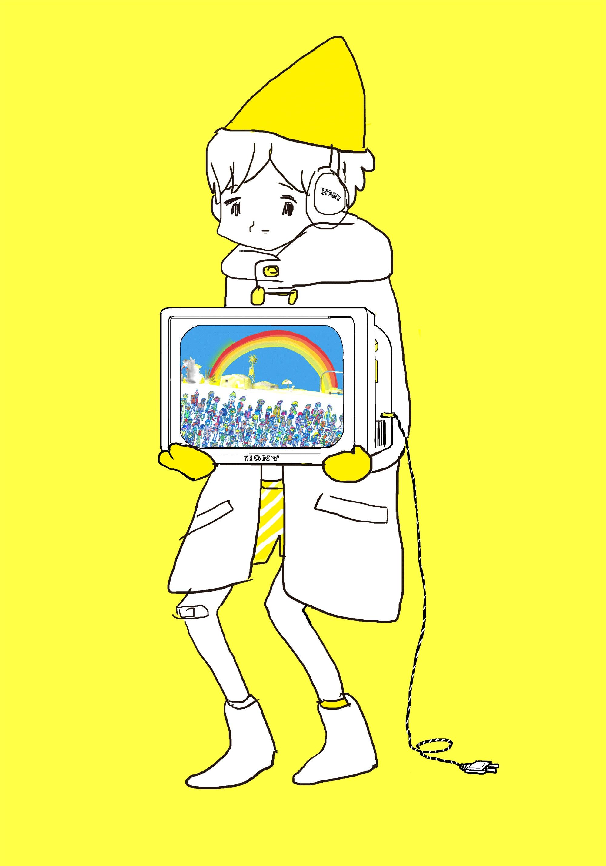 東京飛地展示 参考図版:宮崎夏次系 ©講談社