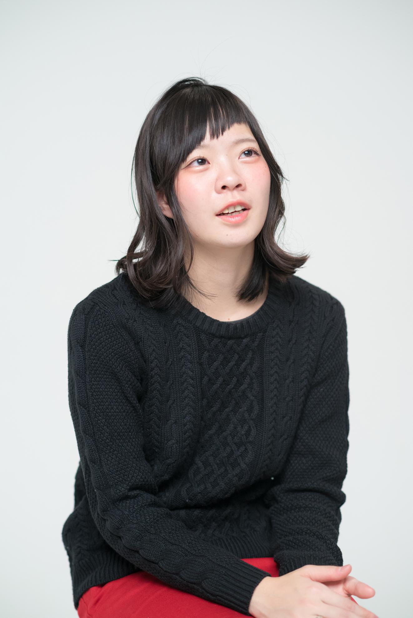 宮崎朝子(Gt/Vo)