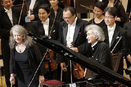 小澤征爾80歳記念コンサート開催、アルゲリッチとともに力強い演奏を見せる