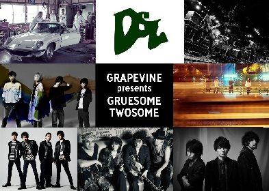 GRAPEVINEの20周年を記念した対バンツアーにユニコーン、ストレイテナー、USGら